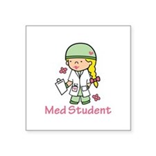 Med Student Sticker