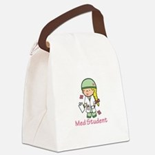 Med Student Canvas Lunch Bag