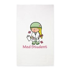 Med Student 3'x5' Area Rug