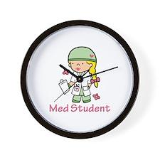 Med Student Wall Clock