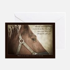 Horse Sympathy With Nice Words Card Greeting Cards