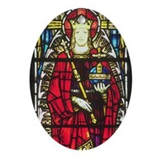 Christ the King Oval Ornament