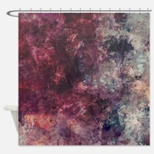 Funny Watercolor Shower Curtain