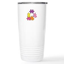 Jigsaw Pieces Travel Mug