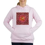 Optical Illusion Sphere - Pink Women's Hooded Swea