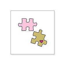 Piece with Heart Sticker