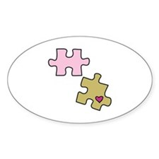 Piece with Heart Decal
