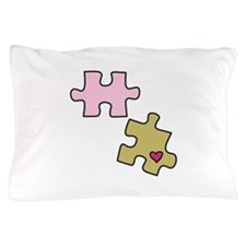 Piece with Heart Pillow Case
