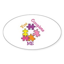 You Complete Me Decal