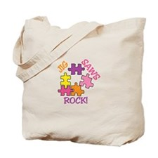 Jigsaws Rock! Tote Bag