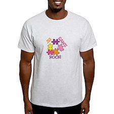 Jigsaws Rock! T-Shirt