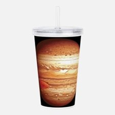 Planet Jupiter Acrylic Double-wall Tumbler