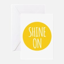 shine on Greeting Cards