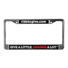 Cute Change License Plate Frame