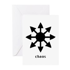 Chaos Symbol Greeting Cards (Pk of 10)