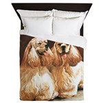 Cocker Spaniels Queen Duvet