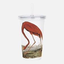 Flamingo drawing Acrylic Double-wall Tumbler