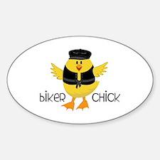 Biker Chick Bumper Stickers