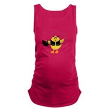 This Chik Rides Maternity Tank Top