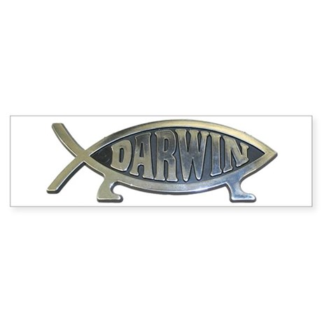 Darwinr Bumper Sticke