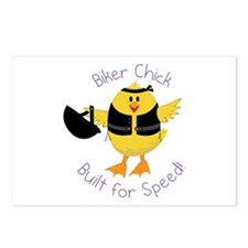 Built Of Speed Postcards (Package of 8)