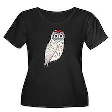 White Owl Plus Size T-Shirt