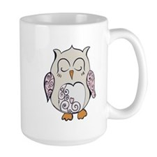 Sleeping Owl Mugs