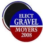 Gravel-Moyers 2008 Magnet