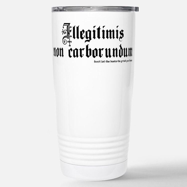 Cute Goth Travel Mug