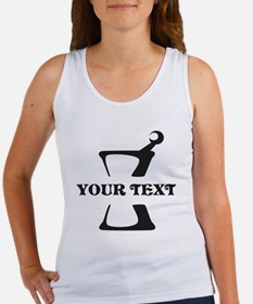 Black your text Mortar and Pestle Women's Tank Top
