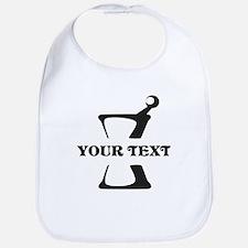 Black your text Mortar and Pestle Bib