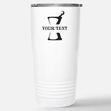 Black your text Mortar Travel Mug