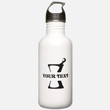 Black your text Mortar Water Bottle
