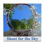Shoot for the Sky Tile Coaster