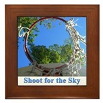 Shoot for the Sky Framed Tile