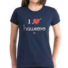 I Heart Hawkeye Red Tee