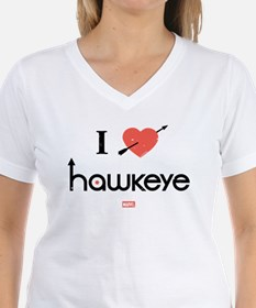 I Heart Hawkeye Red Shirt