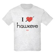 I Heart Hawkeye Red T-Shirt