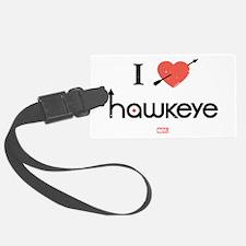 I Heart Hawkeye Red Luggage Tag