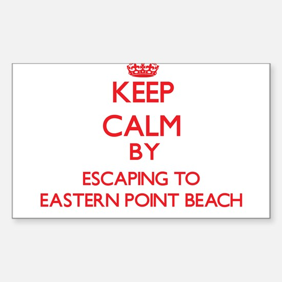 Keep calm by escaping to Eastern Point Beach Conne
