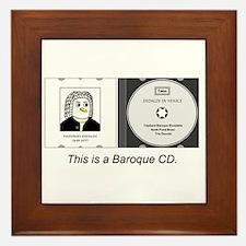 Baroque CD Framed Tile