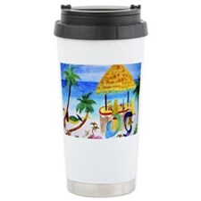 Mermaid beach bar Travel Mug