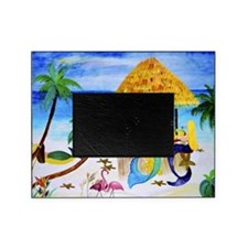 Mermaid beach bar Picture Frame