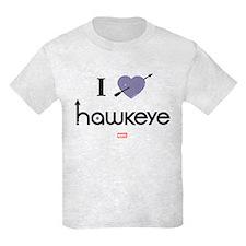 I Heart Hawkeye Purple T-Shirt