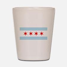 Unique Chicago windy city Shot Glass