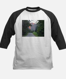 Colorado Mountain trail at sunset Tee