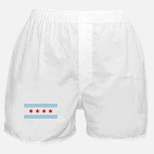 Cute Chicago flag Boxer Shorts