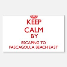 Keep calm by escaping to Pascagoula Beach East Mis