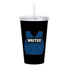 Castle Writer Vest Acrylic Double-wall Tumbler