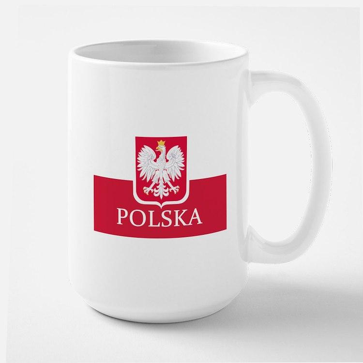 Polska Polish Flag Mugs